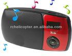 (SOAIY) S-158 Portable Mini Digital Speaker FM Radio with TF Card Slot for Mobile Phone Laptop - Black CSK-86472