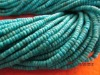 100% natural turquoise loose beads rondelle 4mm