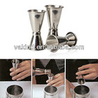 3PCS Stainless Steel Cocktail Drink Mixer Measuring Cup Jigger Measurer Set DIY