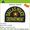 CUSTOM LOGO EMBROIDERED POLICE PATCH LABELS