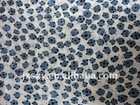 9MM printed pure silk cotton fabric