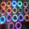 rainbow colored led shoelaces