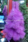 60cm purple pine needle christmas tree