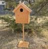 Bamboo bird box, eco-friendly