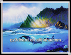 3D picture of natural scenery sea animal with/without frame
