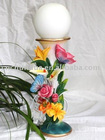 Flower And Butterfly Decorative Table Lamp Resin Crafts