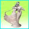 Pink resin wedding decoration new promotional group