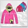 ladies Winter Padded Jacket With Detachable Hood