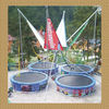 2011 patent 4pcs bungee jumping trampoline