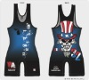 HOT!!! Lycra Matman Custom High Cut Men's Wrestling Singlet