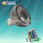 3w rgb mr16 light fixture