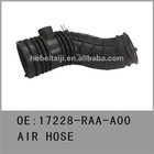 air intake hoses for Honda accord 2.4L 17228-RAA-A00