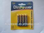 AAA LR03 UM-4 ALKALINE battery dry battery