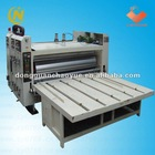 Flexo printing slotting machine(1 to 4 color optional)