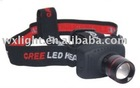 """Superb 3W """"CREE"""" LED zoomable headlight/zoomable torch"""