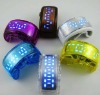 Silicone siman LED watch band