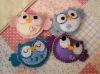 crochet toy,crochet owls