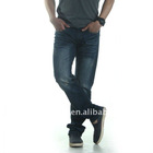 Matchic classic men's jeans,korea jean for boys ,twill-weave M5013
