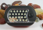 Work light with bright LEDs