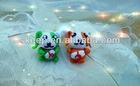 polymer clay cartoon couple mobile pendant bag pendant handmade doll clay figure art wedding promotion gift