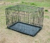Collapsible Double-door Dog Crate
