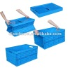 plastic moving crate with handle sale