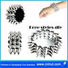 Free Styles Metal Iron Crinkled Wire Charm pendant scarf Jewelry DIY accessories 16st03