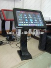 Most populer wholesale 19' desktop LED touch screen KOD karaoke player