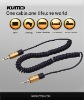 3.5mm stereo cable,coiled cable