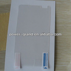 Anti-scratch LCD display protective film for Nokia Lumia 900 (Accept Paypal)