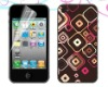 holographic sticker skin for iphone 4