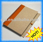 ECO-friendly recycle notebook with pen
