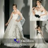 Soft Tulle Strapless Sweetheart A-Line White Long Wedding Dress Bridal Dresses