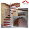 design your own high grade cast iron spiral stair