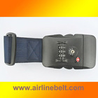 Top classic TSA marine blue luggage belt