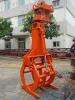 High Quality Hydraulic Log Grab for Excavators