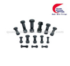 track bolt and nut for track link,track shoe,excavator part