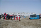 horizontal directional drilling rig 300ton, high quality, three points clamping