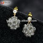 classic Crystal Diamond stud earrings