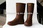 New Chocolate Color Rubber Rain Boot for Men