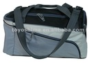 Polyester sport bag with a shoes pocket