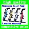 2012 Hot Sell aluminium alloy Bike pump bicycle inflator