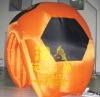 Inflatable orange arch bridge