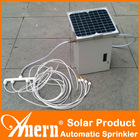 Automatic Portable Solar Power System For Home And Garden Irrigation