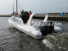 Hypalon RIB boat RIB730B Twin engine