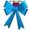 Ribbon Bow Tie - Blue