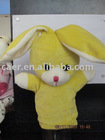 plush toy hand puppet rabbit