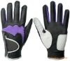 Black male Golf Gloves