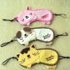 (XHF-EYE-003) cute cartoon eye mask for kids