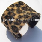Flannelette leopard Bangle